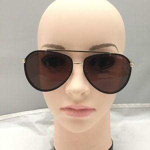 Quay Dirty Habit 61mm Aviator Sunglasses